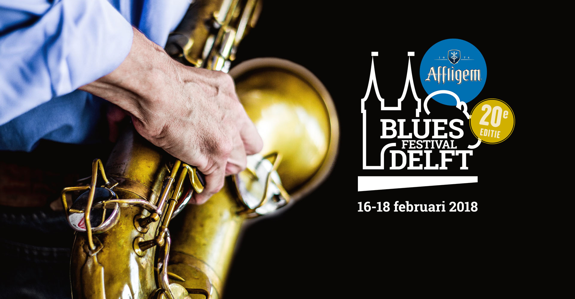 Delft Blues Festival February 16 to 18 2018